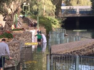 Baptêmes dans le Jourdain