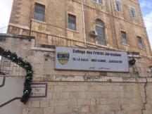 Dabs le quartier chrétien de Jérusalem