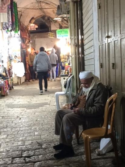Les rues du quartier musulman