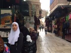 Marché du quartier arabe
