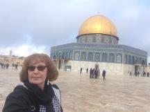 Sur l'Esplanade des Mosquées