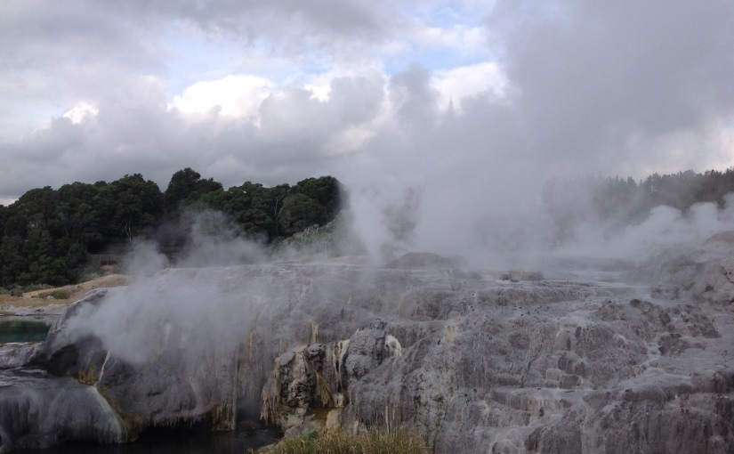 Nouvelle Zélande : île du Nordvolcanique