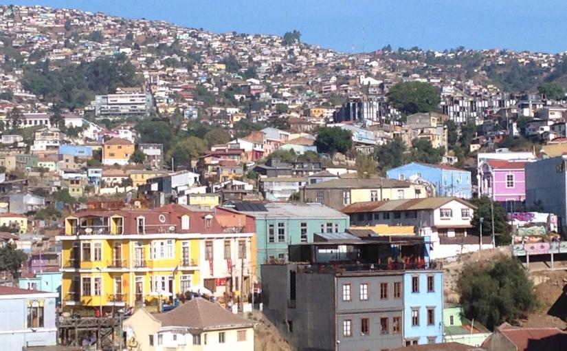 Chili : magiqueValparaiso